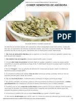 10 Razões Para Comer Sementes de Abóbora _ Medicina Tradicional Chinesa