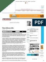 Uma Visita Ao Sítio - 31-01-2016 - Janio de Freitas - Colunistas - Folha de S