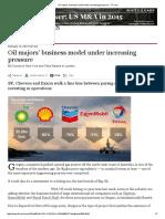 Oil Majors' Business Model Under Increasing Pressure - FT