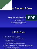 Jacques - Como Ler Umlivro-2011