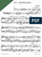 Arabesca 1 Debussy
