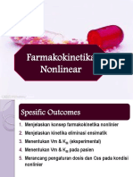 Farmakokinetika Nonlinear