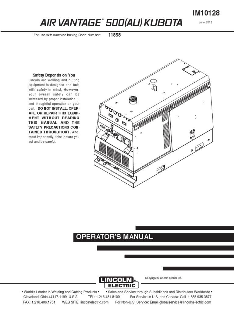 Lincoln Vantage 400 Wiring Diagram Simple Welder Engine Schematic Welders Powered