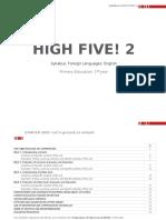 Ppccbb Lomce High Five 2. English