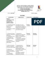 Matriz História, Módulos 4 a 6, Abril 2010