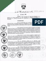 Rc 473 2014 Cg Directiva Audditoria de Cumplimiento