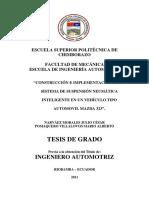 Sistema de Suspension Neumatica - Mazda 323
