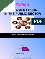 Topic 5 - Customer Focus New-1