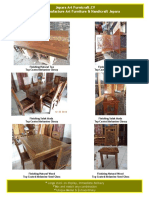 Finishing furniture