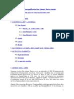 Estudio Monográfico de San Manuel Bueno