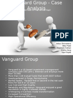 Vanguard Group - Case Analysis