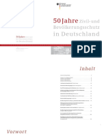 50 Jahre Zivil- und Bevölkerungsschutz in Deutschland
