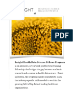 Insight Health Data Science White Paper