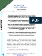 Rueda de Prensa PP 14 de Abril