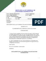 Reglamento Ley General Asociaciones Cooperativas (2)