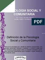 PSICOLOGIA SOCIAL  Y COMUNITARIA.ppt