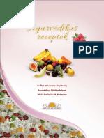 AYURVÉDIKUS RECEPTEK Az Élet Művészete Alapítvány.pdf