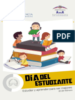 Brochure sobre el Día del Estudiante