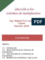 Los Sistemass de Manufactura