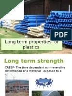 Long Term Properties of Plastics