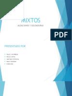 SOLDADURAS Y ALEACIONES
