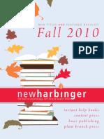 New Harbinger Fall 2010