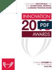 2013 Innovation Awards Program