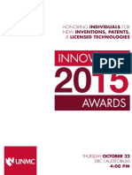 2015 Innovation Awards Program