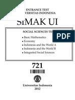 2012 Social Sciences Test-721