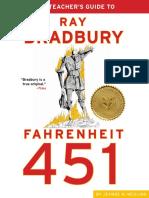 Fahrenheit 451 Teachers Guide
