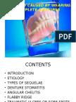 Sequelae by Complete Denture Original (1)