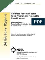 ethanol- Diesel
