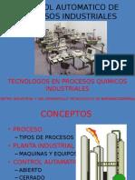 Control Automatico de Procesos Industriales