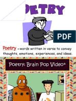 poetry terms and types of poems
