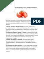 El Tomate Es Rico en Antioxidantes