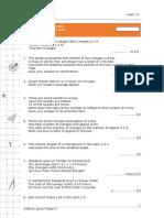 Cap1A. IGCSE Practice Exam Questions