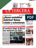 Diario La Tercera 18 02 2016