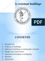 Slides of Earthquake-resistant Buildings