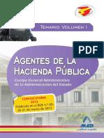 Vol 1. Agentes de La Hacienda Publica. Cuerpo G
