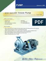 FSA_End Suction Volute Pumps
