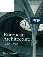 01. Barry Bergdoll - European Architecture 1750-1890