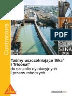 Rozwiazania Sika - Tasmy Uszczelniajace_pl