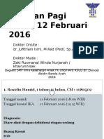 MR 11 Februari 2016