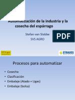Automatizacion y Mecanización de la industria del Espárrago