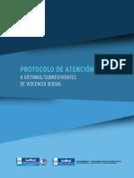 Protocolo de Violencia Sexual 2015