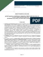 Metodologie privind organizarea şi desfăşurarea admiterii în ciclul de studii universitare de LICENŢĂ pentru anul universitar 2015 - 2016