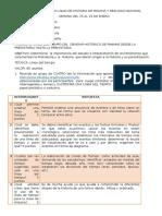 Taller 4 ESTUDIO DE INTERPRETACIÓN DE LOS FENÓMENOS QUE CARACTERIZAN LA PREHISTORIA Y LA HISTORIA