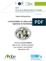 Fermentation en Milieu Solide, Entre Ingénierie Et Microbiologie (1)