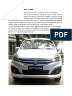 Harga Suzuki Ertiga Terbaru di Indonesia
