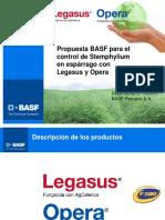 Control Sthemphyllium en Esárrago